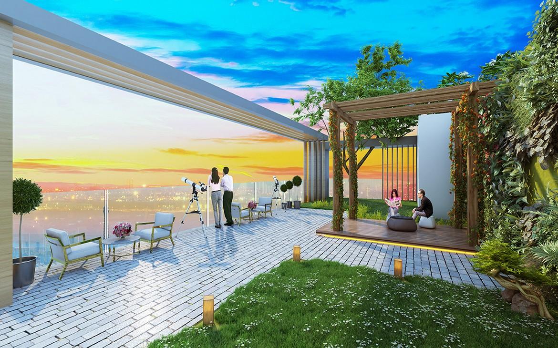 """Sky Lounge Phú Đông Premier sang trọng với không gian mở thỏa mãn mọi giác quan. Đem tới những trải nghiệm """"tầm cao""""."""