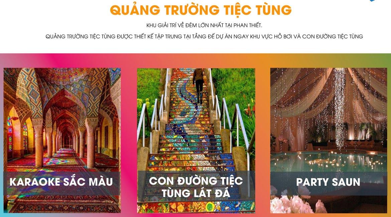 Tiện ích dự án căn hộ biệt thự condotel Mũi Né Summer Land Phan Thiết