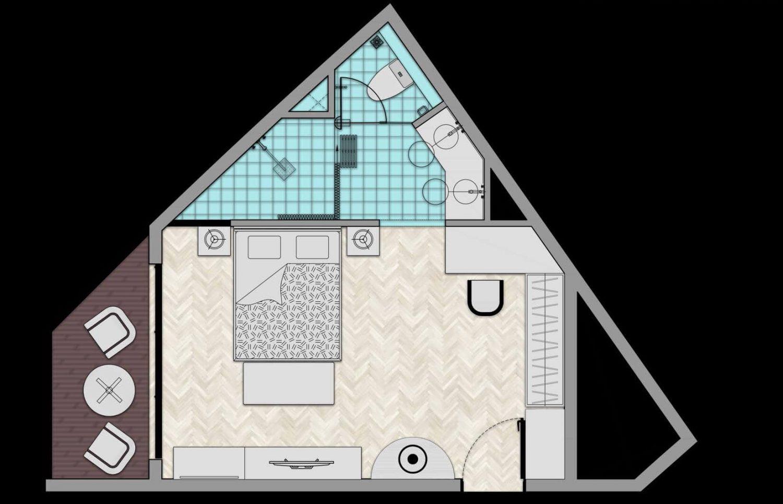 Thiết kế Duluxe condotel dự án Mũi Né Summer Land Phan Thiết