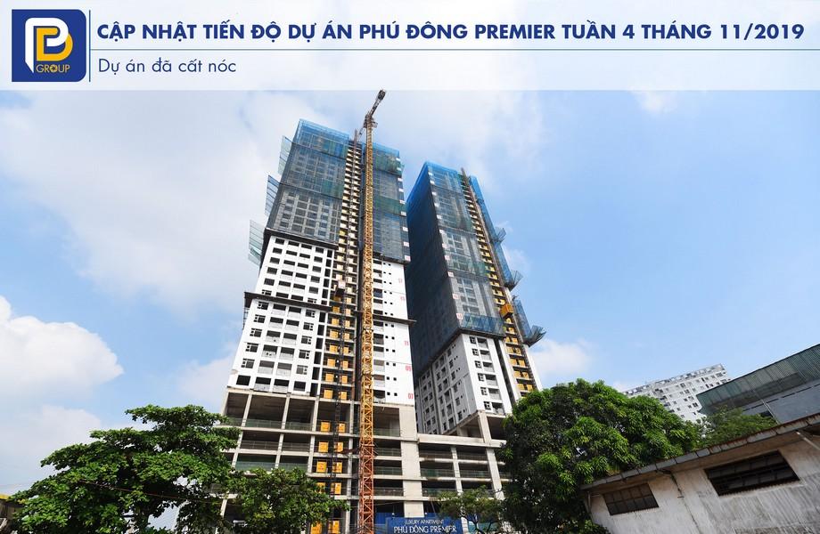 """Tiến độ căn hộ Phú Đông Premier tháng 11/2019 – Liên hệ<strong><span style=""""color: #ff0000;"""">0909.213.286</span></strong>xem thực tế dự án"""