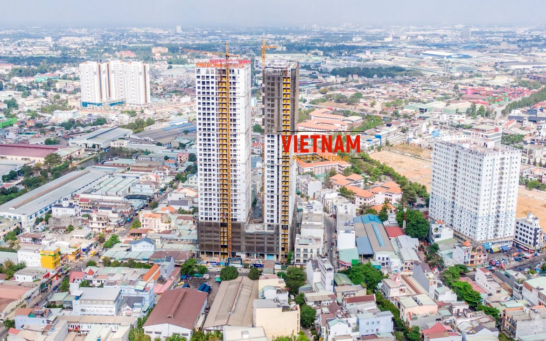 Tiến độ dự án Phú Đông Premier giữa tháng 2/2020 - Liên hệ 0909.2132.286 xem nhà thực tế