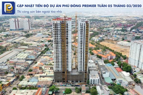 Cập nhật tiến độ Phú Đông Premier tuần 5 tháng 3 năm 2020