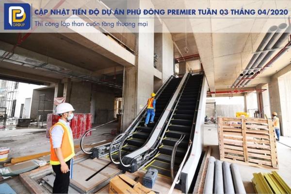 Cập nhật tiến độ Phú Đông Premier tuần 3 tháng 4 năm 2020